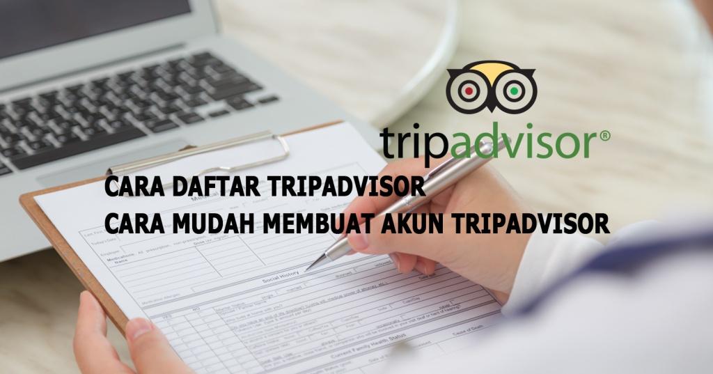 cara daftar tripadvisor