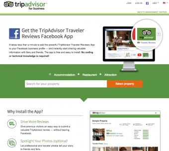Cara menghubungkan tripadvisor dengan fanpage facebook