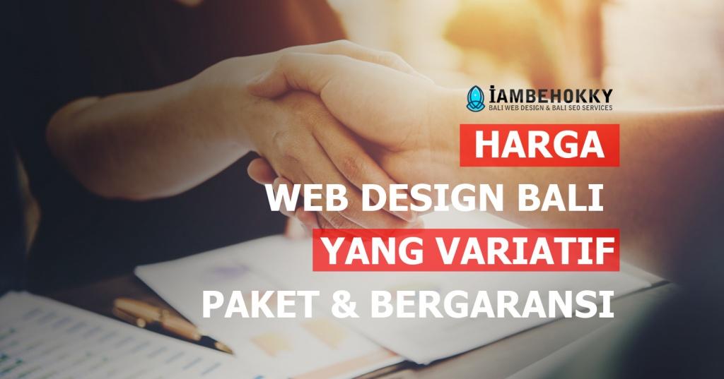 harga web design Bali