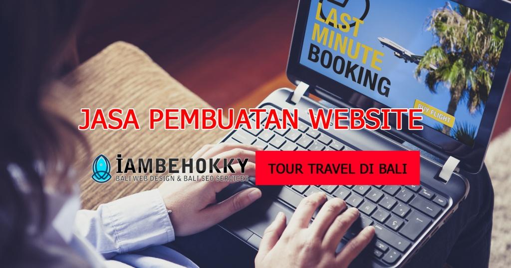 Jasa Pembuatan Website Tour di Bali