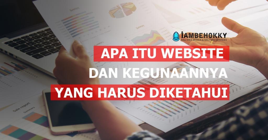 Apa itu website dan kegunaannya