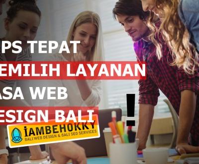 jasa web design bali